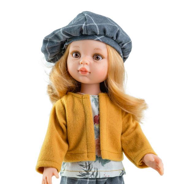 ПаолаРейна. Кукла Даша в берете. Кукла Даша из серии Подружки, 32 см