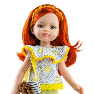 Лиу. Купить куклу Подружку.Кукла Лиу (рыженькая) из серии Подружки, 32 см