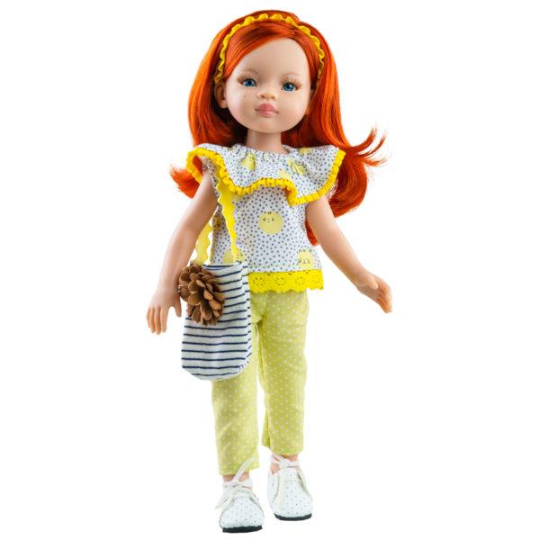 Кукла Лиу (рыженькая) из серии Подружки, 32 см