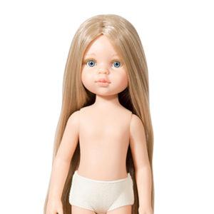 Кукла Подружка Карла Рапунцель. Кукла Карла (без одежды) волосы до щиколоток, без чёлки, прямой пробор, 32 см