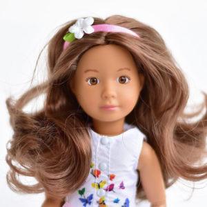 Кукла София Kruselings в летнем праздничном платье, 23 см
