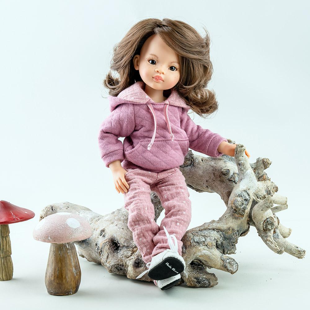 Новинка 2021 года «Подружки шарнирные». Новая серия в каталоге 2021! Paola Reina представляет свой новый проект: серия «Подружки, 32 см, шарнирные». Кукла Мали, шарнирная