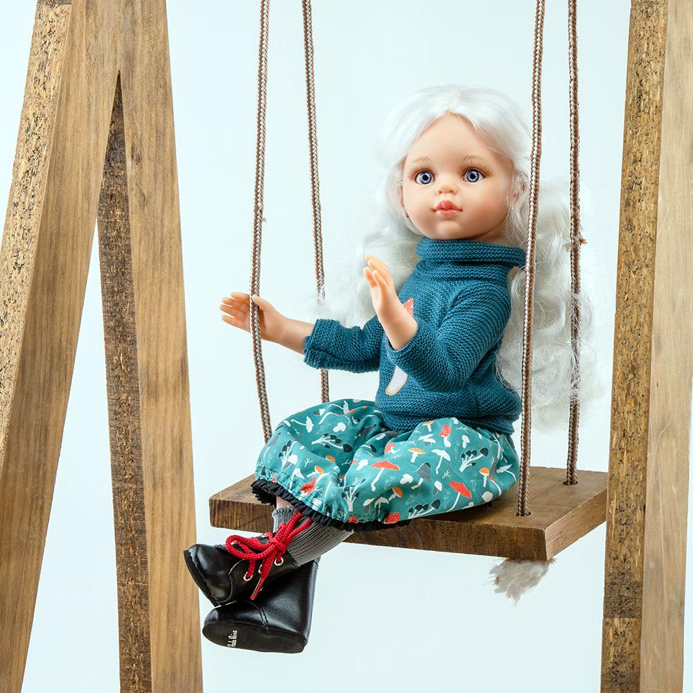Кукла Сесиль, шарнирная