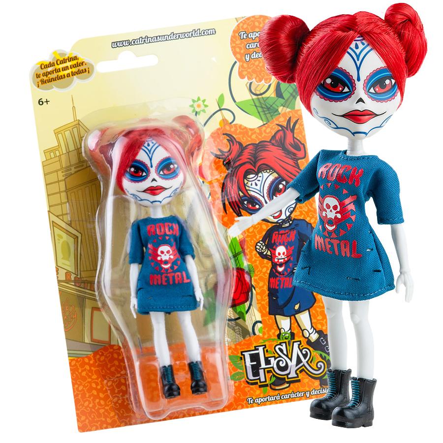 Куклы Катринас 16 см Паола Рейна