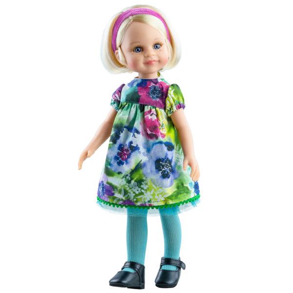 Кукла Варвара, 32 см Паола Рэйна с милой улыбкой