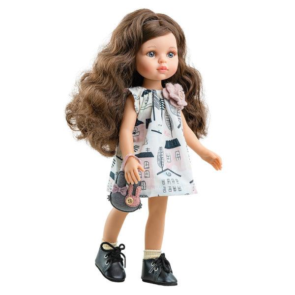 Кэрол с вьющимися волосами