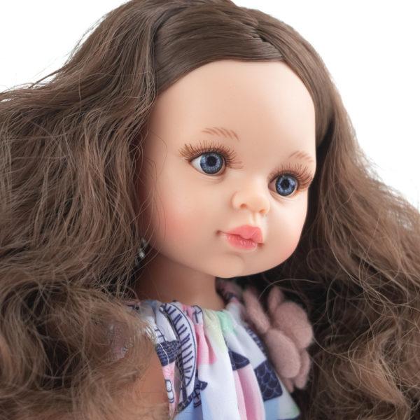Кукла Кэрол с вьющимися волосами