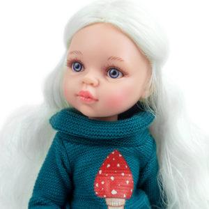 Кукла Сесиль шарнирная Паола Рейна